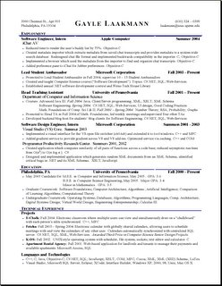 Arts resume stanford