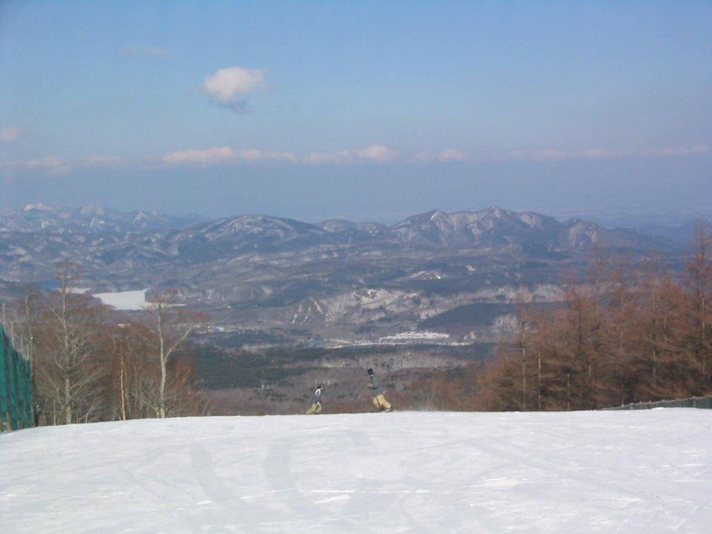 スキー 場 湖 羽鳥