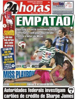 Miss Playboy vem morar para o Algarve