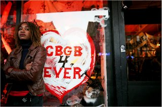CBGB's coverage by the New York Times - nytimes.com