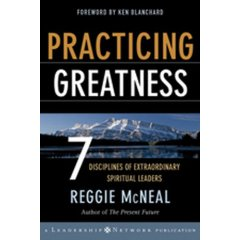 Practicing Greatness, by Reggie McNeal
