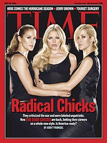 The Dixie Chicks grace the cover of Time magazine