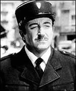 Peter Sellers as Inspector Clouseau in the original Pink Panther