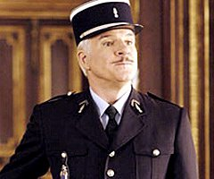 Steve Martin as Clouseau in the 2006 Pink Panther movie