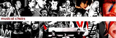 musical chairs music ring post: Steve Jones of the Sex Pistols