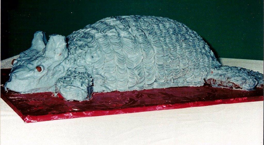 Armadillo Cake Pan Wilton