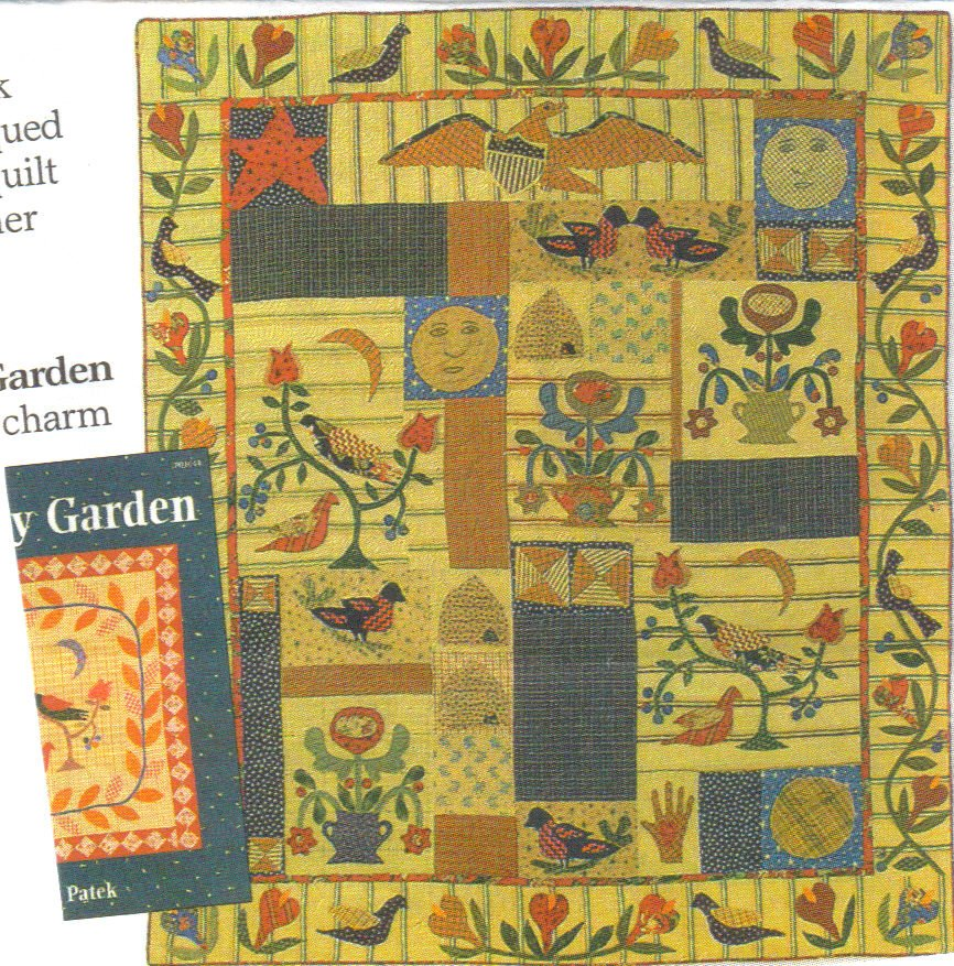 liberty garden a jan patek bom from several years ago that i am still working on all the blocks are stitched together now and im working on the - Liberty Garden