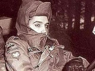 Elvis wearing a niqab