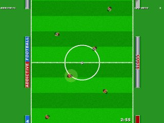 Grass pitch in formation - Click to Enlarge