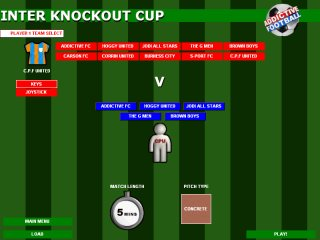 Inter Knockout Cup - Click to Enlarge
