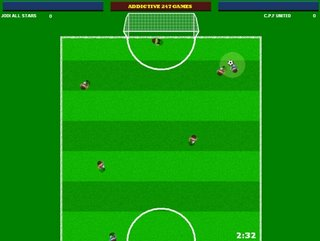 Addictive Football - Grass Pitch. Click to Enlarge