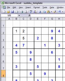 ixnay2infinity sudoku excel helper