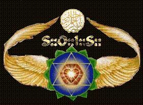 Emblema de la Orden de Iniciacion Solar Esenio-Sufi Genizahr Gueburah.