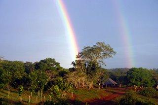 Shadow rainbow