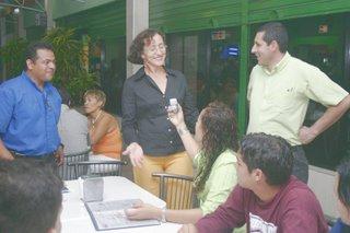 Pastor Adrian Ventura, Luz Maria and Edgar Coronado