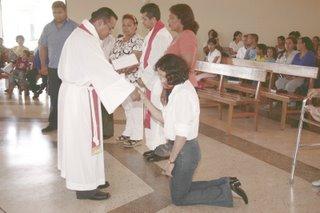 Luz Maria installed as coordinator of Christian education programs