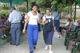 Luz Maria and Luz Guerrero