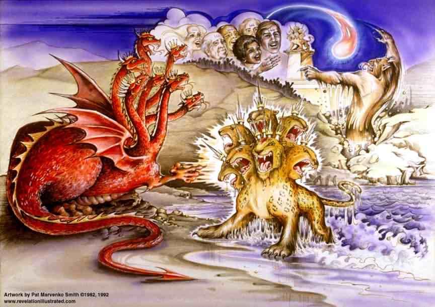 The Unholy Trinity Revelation 13 Gracewalk