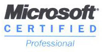 Eric Fickes is a Microsoft Certified Professional