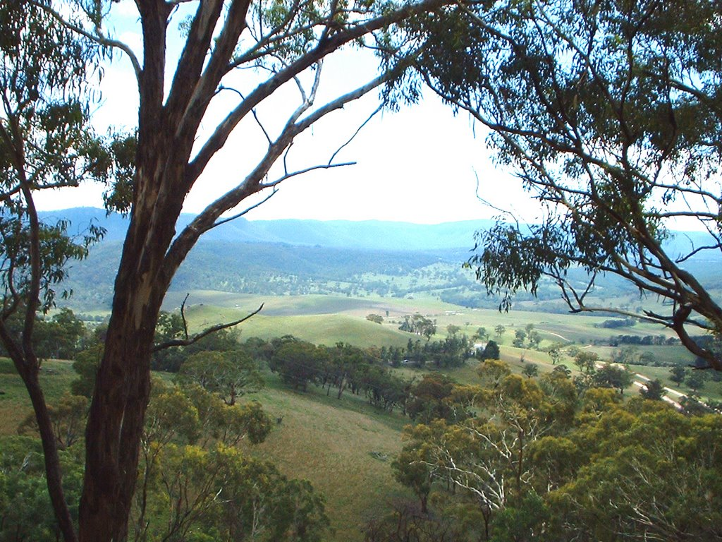 johnno view of the blue mountains from the west