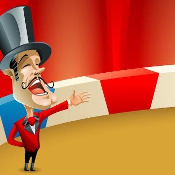 Circo politico - Oliver Leon - Dibujando por Dinero