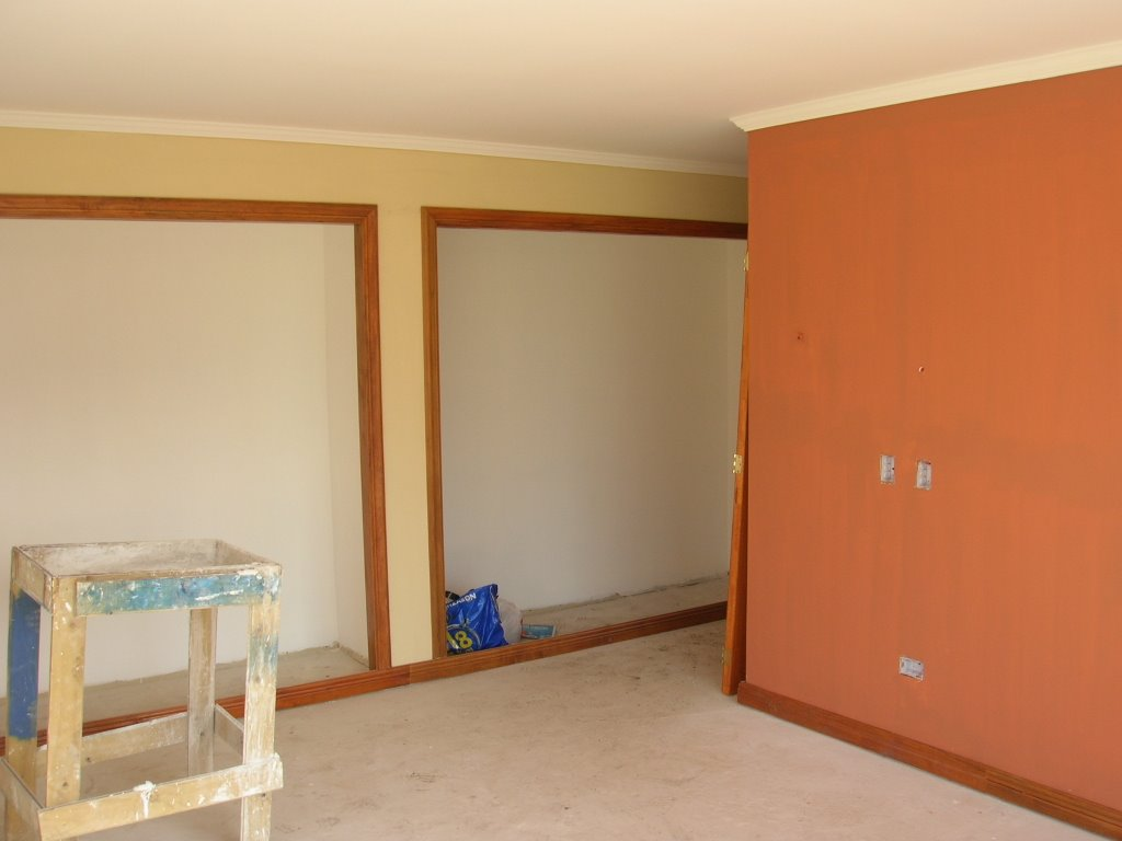 Parcela 31 ventanas pisos colores empalmes - De que color pintar el comedor ...