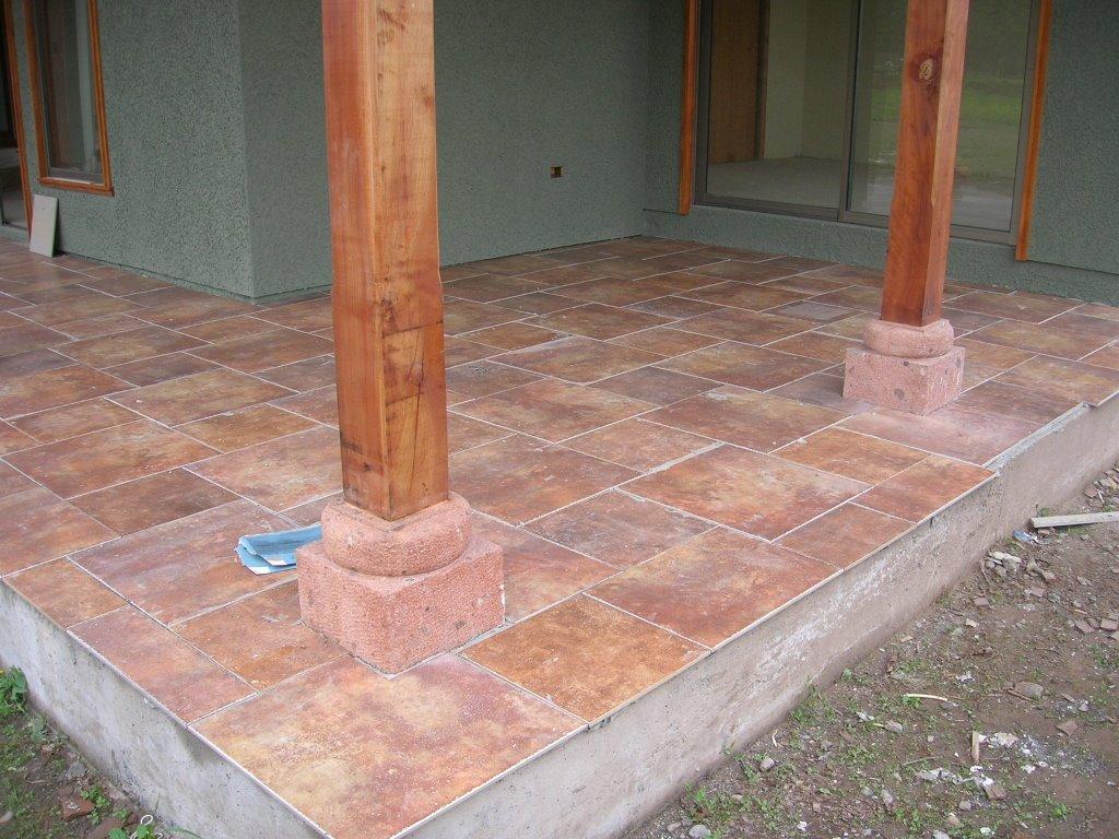 Parcela 31 piso exterior barnizado for Piso exterior zulia
