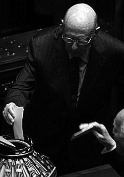 Giorgio Napolitano - Neo Presidente della Repubblica