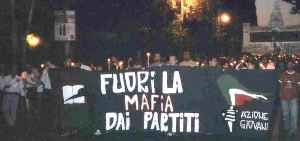 Manifestazione a Palermo Pro Borsellino