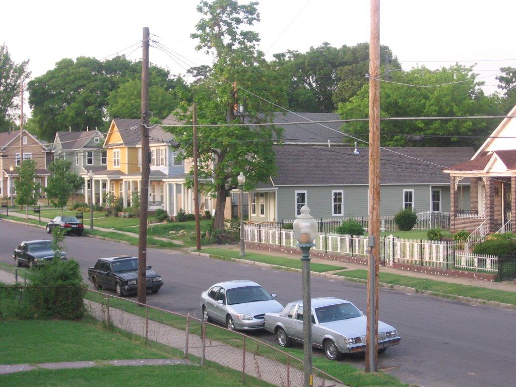 A street in Uptown