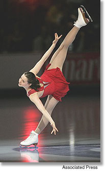 Emily Hughes Figure Skating