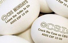 Era uma dúzia de ovos e a programação da CBS, fáxavôr!