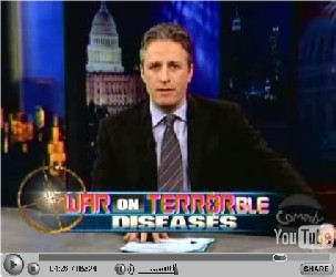 Daily Show's War on Terror(ble) Diseases