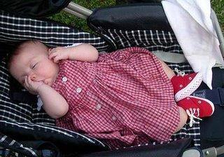stroller snooze