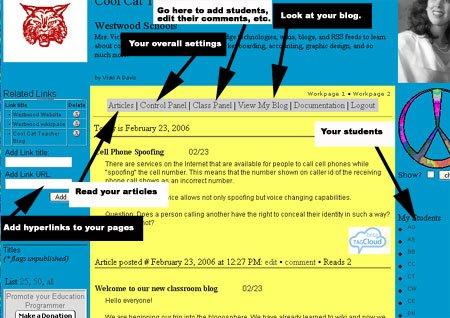 Cool Cat Teacher Blog: How to set up a classroom blog using Class ...