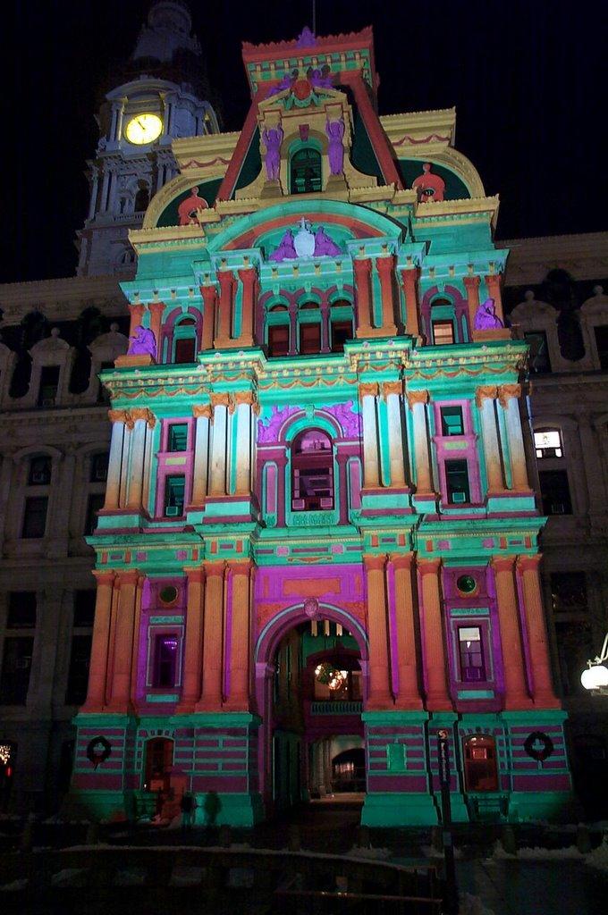 my life in center city philadelphia philadelphia city hall lit up