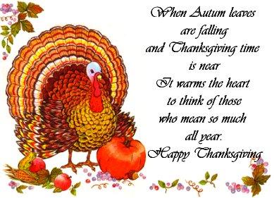 Поздравления thanksgiving day на английском