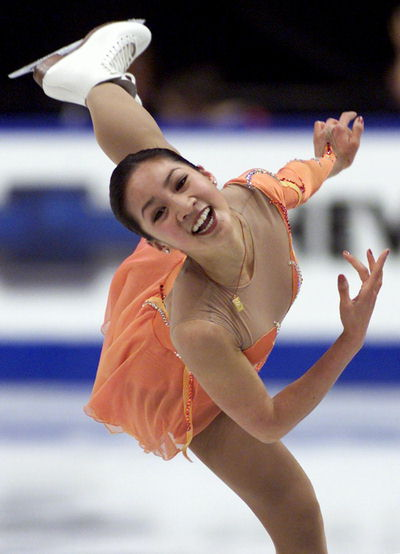 Stupidrambli... Michelle Kwan Figure Skating