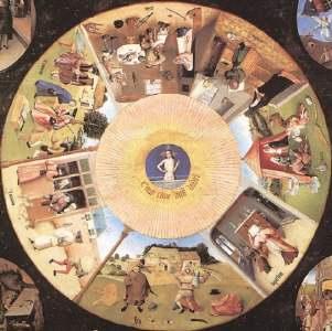 7 pecados capitais, Bosch