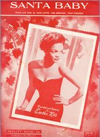 Eartha Kitt Santa Baby