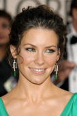 Evangeline Lilly at the Golden Globes