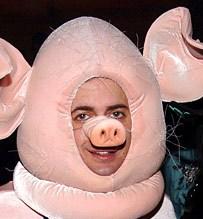 Oink oink, Marc!!!