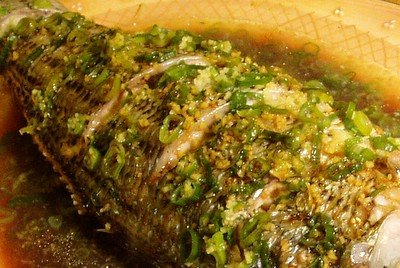 Beyond Salmon: Whole steamed fish with ginger and scallions
