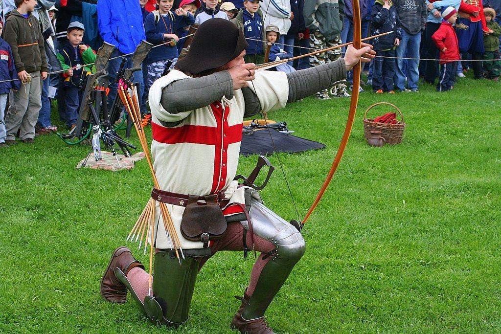 Medieval Archery Festival in Botanicus Farm   Ostra u Lyse nad Labem    Medieval Archery Wallpaper