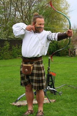 Medieval Archery Festival in Botanicus Farm