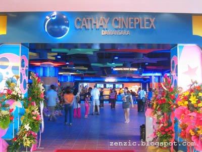 Cineleisure Main Entrance