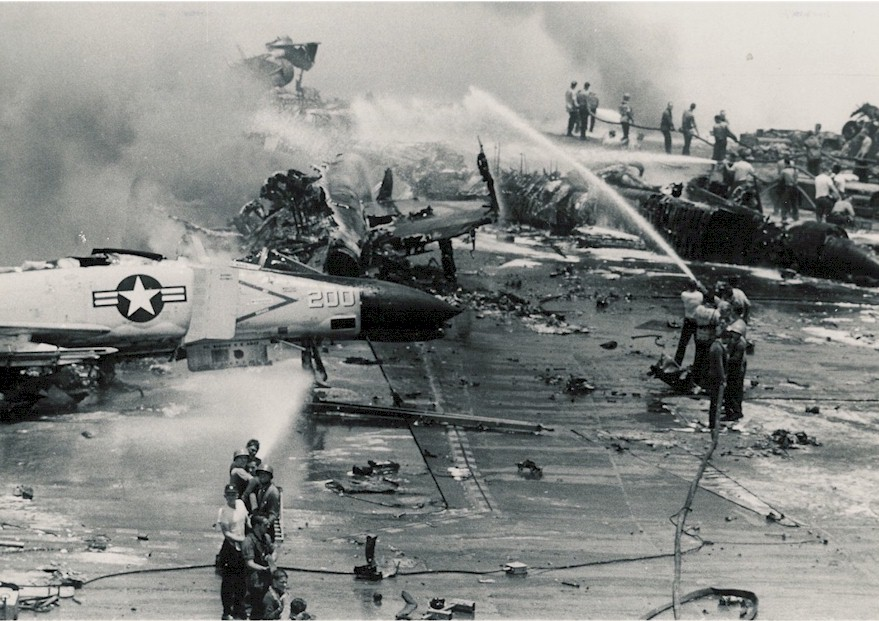 Milfuegos Navy Records On Uss Forrestal Incident In July