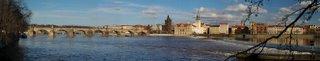 Ponte Carlos, um dos locais mais visitados em Praga