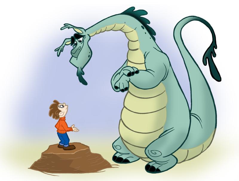 Toon Baboon: The Art of Adrian Ropp: Puff the Magic Dragon -ToonClub ...