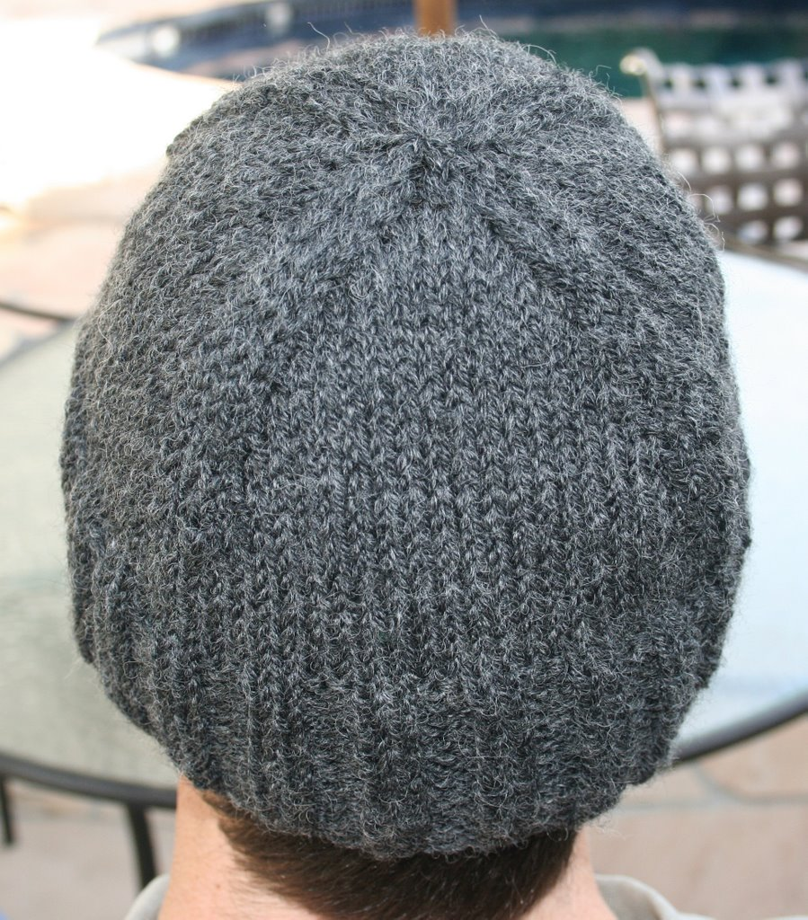 Dropped a Stitch: Father/Daughter Hat
